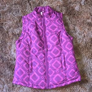 RED CAMEL PURPLE VEST
